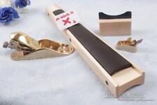 luthier Violin tools Fingerboard repairing tools Cradle + scraper +2pcs Planes
