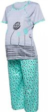 Maternity pyjamas set  nightwear sleepwear nursing open button short sleeve M110