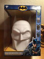Batman COWL Statue Face Mask Color Your Own 8 Mini Markers art Gotham