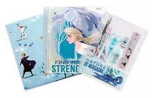 Disney Store Frozen ELSA & ANNA Stationery Supply Kit-New Sealed