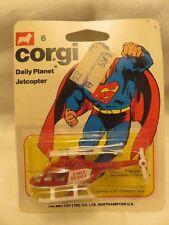 Vintage Corgi Jr. Superman 6 Daily Planet Jetcopter DieCast DC Comics 1978