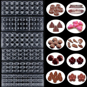 Clear Plastic Chocolate Mould Polycarbonate Sugarcraft Mold Cake Decorating Tool