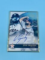JOSE URQUIDY 2020 TOPPS GOLD LABEL FRAMED ROOKIE SIGNATURE ON CARD AUTO ASTROS