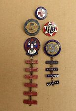 WW11 AIF AUSTRALIAN JOB LOT OF ENAMEL BADGES  F.F.C.F , S.P.F ,RED CROSS ETC