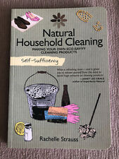 New Self Sufficiency Make Your Own Natural Household Cleaning Lifestyle Book