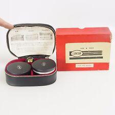 >Lentar Telephoto & Wide Lens For Polaroid Camera *Original Box & Case*