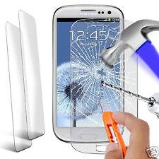 TWIN Pack-ORIGINALE IN VETRO TEMPERATO PROTEGGI SCHERMO per Samsung Galaxy S3 i9300