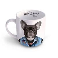 Wild Dog Tasse Kaffeetasse Mug Teetasse Haferl Hund Tier coole Geschenkidee weiß