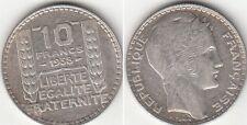 Monnaie Française 10 francs Turin 1938