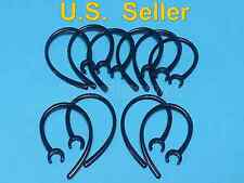 10 Black Earhooks for Plantronics  M155 M165 M1100 M100 M55 M28  M25  975 925