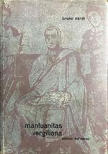 (Cultura Classica) B. Nardi - MANTUANITAS VERGILIANA - Ateneo 1963