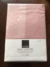 Pink stripe single duvet set **NEW**