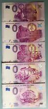 5 × 0 Euro Scheine DDR MUSEUM Berlin Nr. 2017/1 - 5 Karl Marx ,Trabant Raritäten