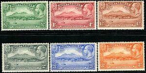 Montserrat 1932 KGV  Anniv.of Settlement - Values to 3d   SG.84/89 Mint (Hinged)