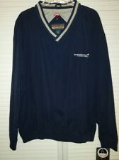NEW VINTAGE TRAVELERS LIFE & ANNUITY PULLOVER STITCHED LOGO JACKET LARGE