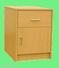 BEDSIDE TABLE BEECH UK QUALITY MAKE *NEW* (R115)