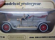 Diecast Matchbox MODELS of Yesteryear NRFB 1969 Y-10 C 1906 Rolls Royce