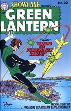 DC-Showcase #22 Lanterna Verde (tedesco) prima edizione VERDE LANTERNA German Reprint