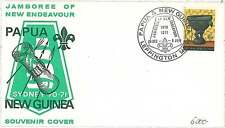 BOY SCOUTS: SPECIAL COVER and POSTMARK : PAPUA NEW GUINEA 1970