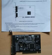 More details for busby digital 3d pci sound card win 95/98/nt4 retro computing
