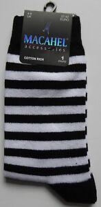 Novelty Funky Stripy Striped THIN Stripe ANKLE Socks Ladies Size 4-8 80% Cotton