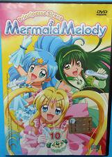 dvd MERMAID MELODY Principesse sirene HOBBY & WORK numero 10