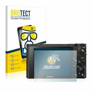 Sony Cyber-Shot DSC-RX100 VII, BROTECT® AirGlass® Premium Glass Screen Protector