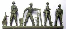 Milicast FIG104 1/76 Resin WWII German Officers/NCO's