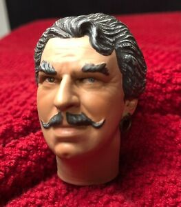 "SIDESHOW LUGOSI BELA THE GYPSY THE WOLF MAN 1/6 HEAD ONLY FOR 12"" FIGURE DRACULA"