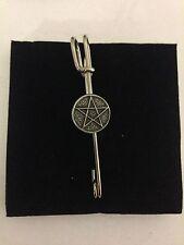 """Pentagram R23 Pewter Emblem Kilt Pin Scarf or Brooch 3"""" 7.5 cm"""