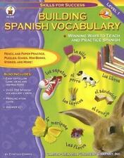 Building Spanish Vocabulary: Winning Ways to Teach and Practice Spanish (Level
