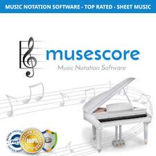 MuseScore - Music Notation Software - Sheet Music Maker - Windows Mac - NEW