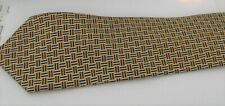 EDE AND REVENSCROFT TIE - CHECK DESIGNED - 100% SILK TIE - COURT TAILORS