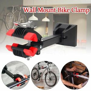 Wall Mount Bike Repair Stand With Quick Release Foldable Clamp Bracket UK