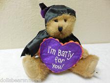 "NWTMWT! Boyds Bears ""DRAKE BATBEARY"" BAT BEAR Fall Autumn Plush 4023891"