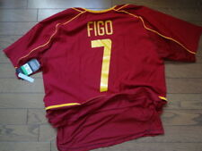 Portugal #7 Figo 100% Authentic Soccer Jersey Shirt 2002/03 Home XL Still NWT