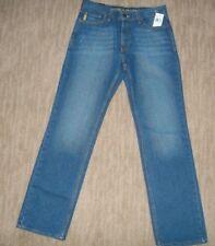 NAUTICA Straight Leg CLASSIC FIT Vineyard Blue Wash JEANS Mens Size 30 X 32 NEW