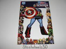 Captain America Reborn #2 Comic VARIANT Marvel 70th Anniversary Frame Quesada