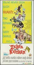 ZEBRA IN THE KITCHEN Movie POSTER 20x40 Jay North Martin Milner Andy Devine