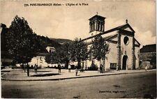 CPA  Pont-Trambouze - L'Eglise et la Place  (639930)