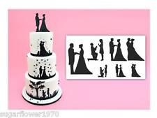 Patchwork Cutters Wedding Silhouette Set Sugarcraft  NEXT DAY DESPATCH