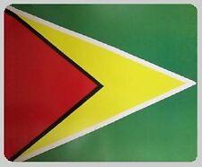 """Blanket Fleece Throw National Flag Guyana 50""""x60"""" NEW with protective sleeve"""