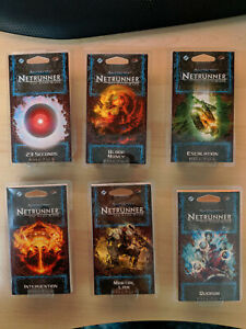 Android Netrunner Flashpoint Cycle (6 new data packs)