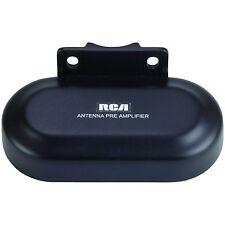 RCA Outdoor Antenna Preamplifier Pre Amplifier TV Range Reception Signal Bo
