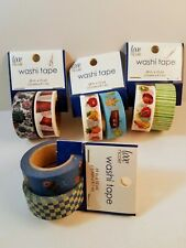 Washi Tape two roll multi pack - price is for one pack of 2 rolls - you select