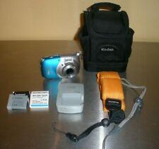 Canon PowerShot D10 Waterproof Digital Camera - Multiple Batteries & Accessories