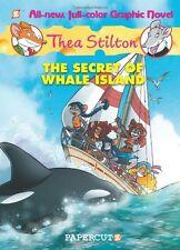 Thea Stilton Graphic Novels #1: The Secret of Whale Island by Thea Stilton