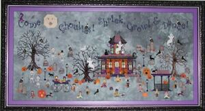 Ghoul's Crossing - Praiseworthy Stitches - New Chart