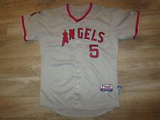 Albert Pujols #5 Anaheim Angels majestic MLB Jersey Youth L 14-16 large