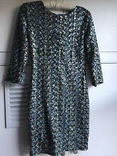 TFNC Sequin Dress Size S (8-10)blue/gold